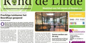 Opening tuinkamer in Rond de Linde