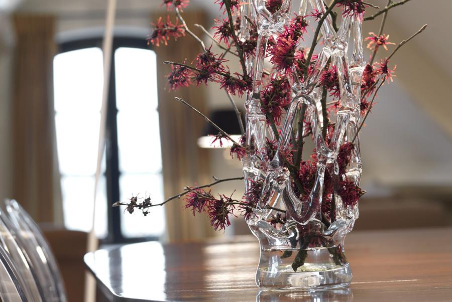 bloemen in de grote bovenkamer