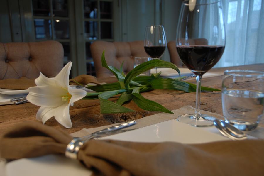 sfeervol dineren in de woonkeuken