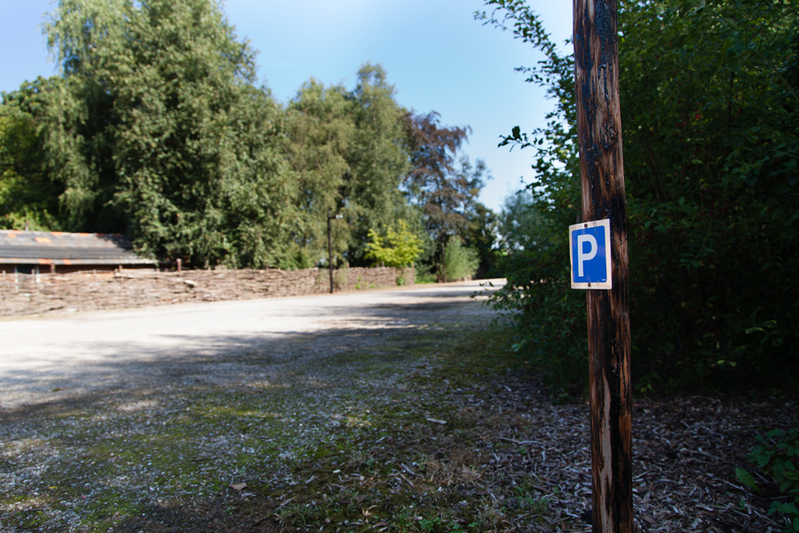een eigen en ruime parkeerplaats